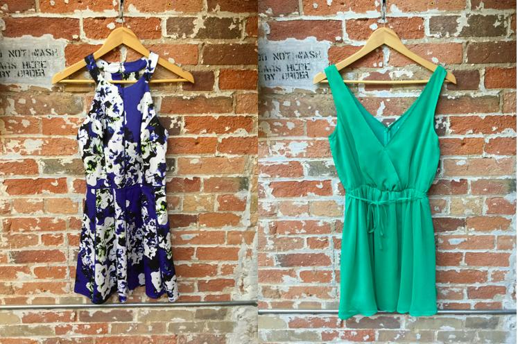 Parker Floral Cut Out Dress $348 Cupcakes & Cashmere Hudson Wrap Dress $148