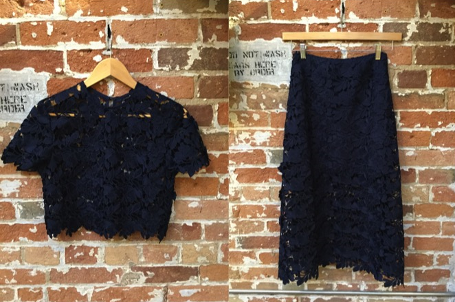 Keepsake Lace Top $220 Keepsake Lace Skirt $295