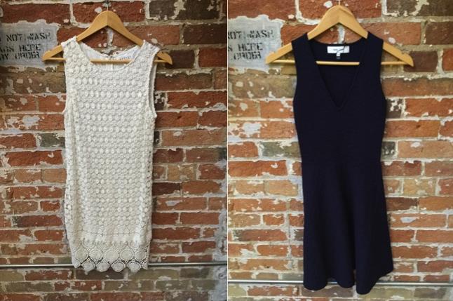 Velvet Lace Dress $278 John & Jenn Flare Dress $149