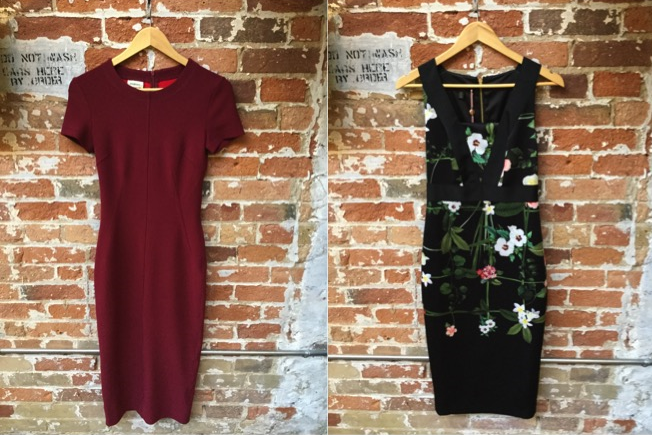 Malene Birger Mid Bodycon Dress $395 Ted Baker Mid Floral Dress $355
