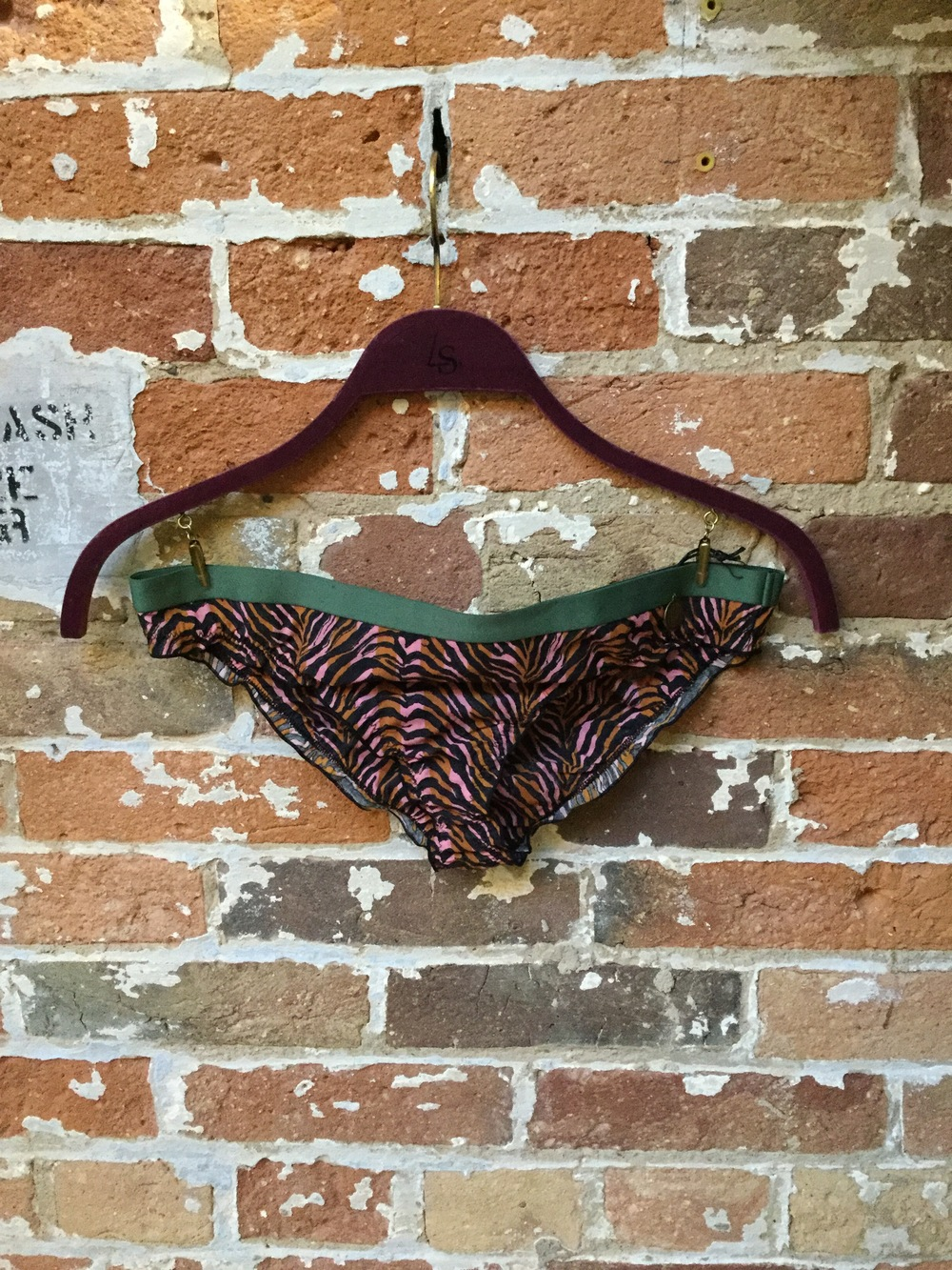 Zebra Print Bikini Underwear $75