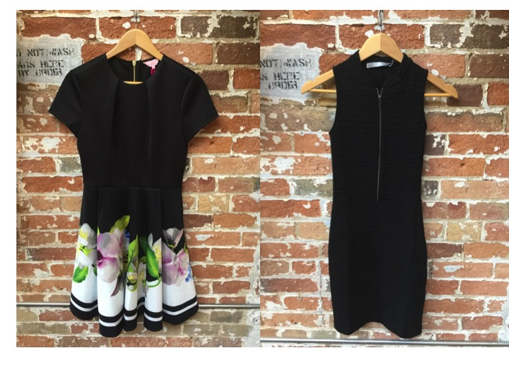 Ted Baker Floral Skater Dress $315 Tiger of Sweden Zip Dress $229