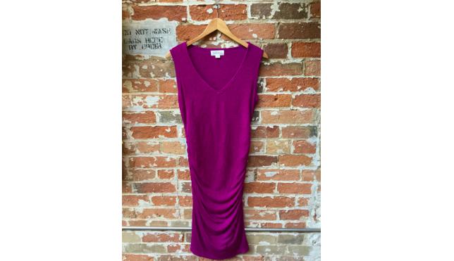 Velvet Knit Dress $198