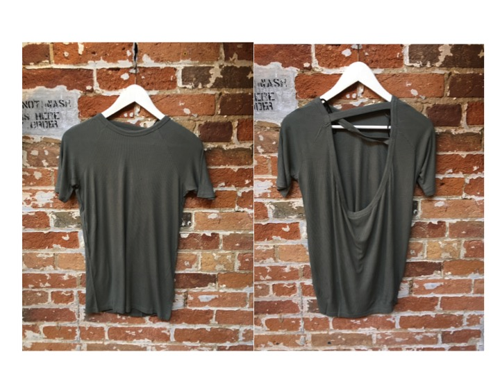 Cheap Monday Tee (front & back) $45