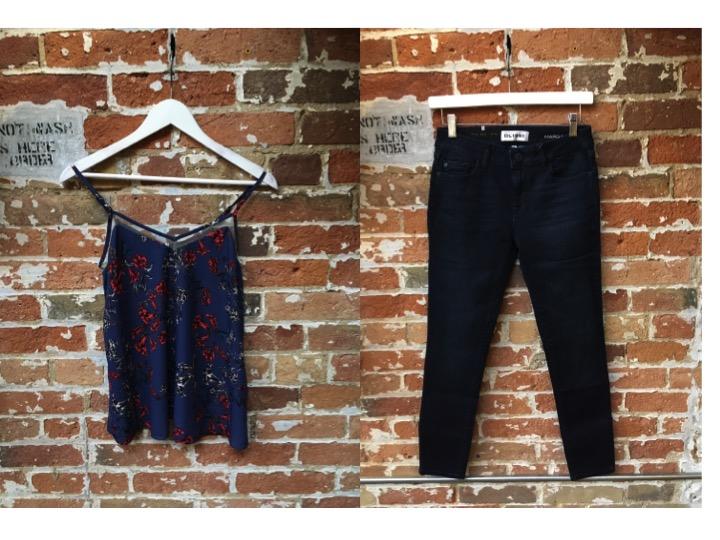 Heartloom Tank $128 DL1961 Margaux Jeans $265