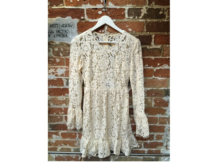 Dry Lake Lace Dress $149
