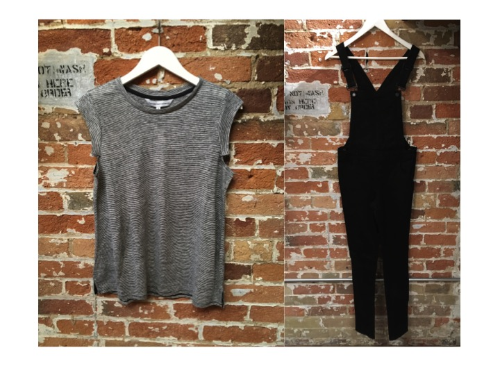 Cupcakes & Cashmere Tee $88 Cheap Monday Overalls $115