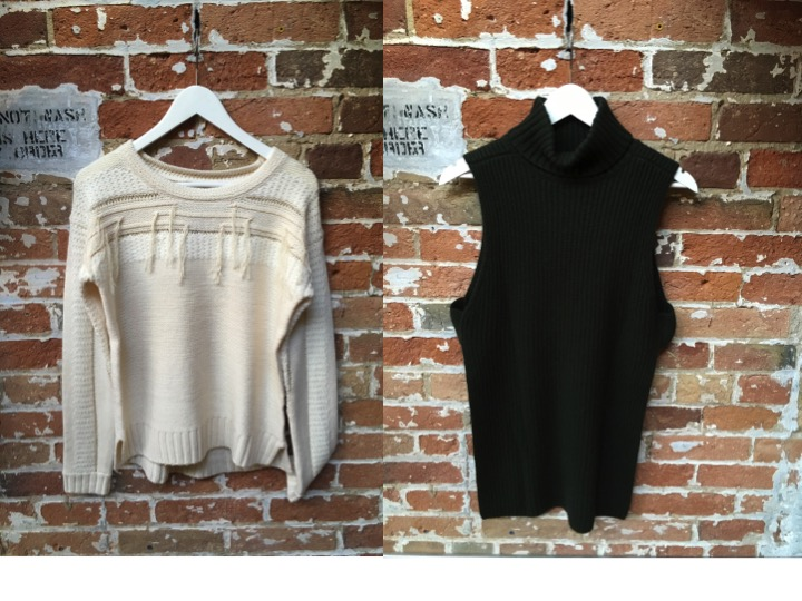 Heartloom Fringe Sweater $148 Autumn Cashmere Sleeveless Turtleneck $265