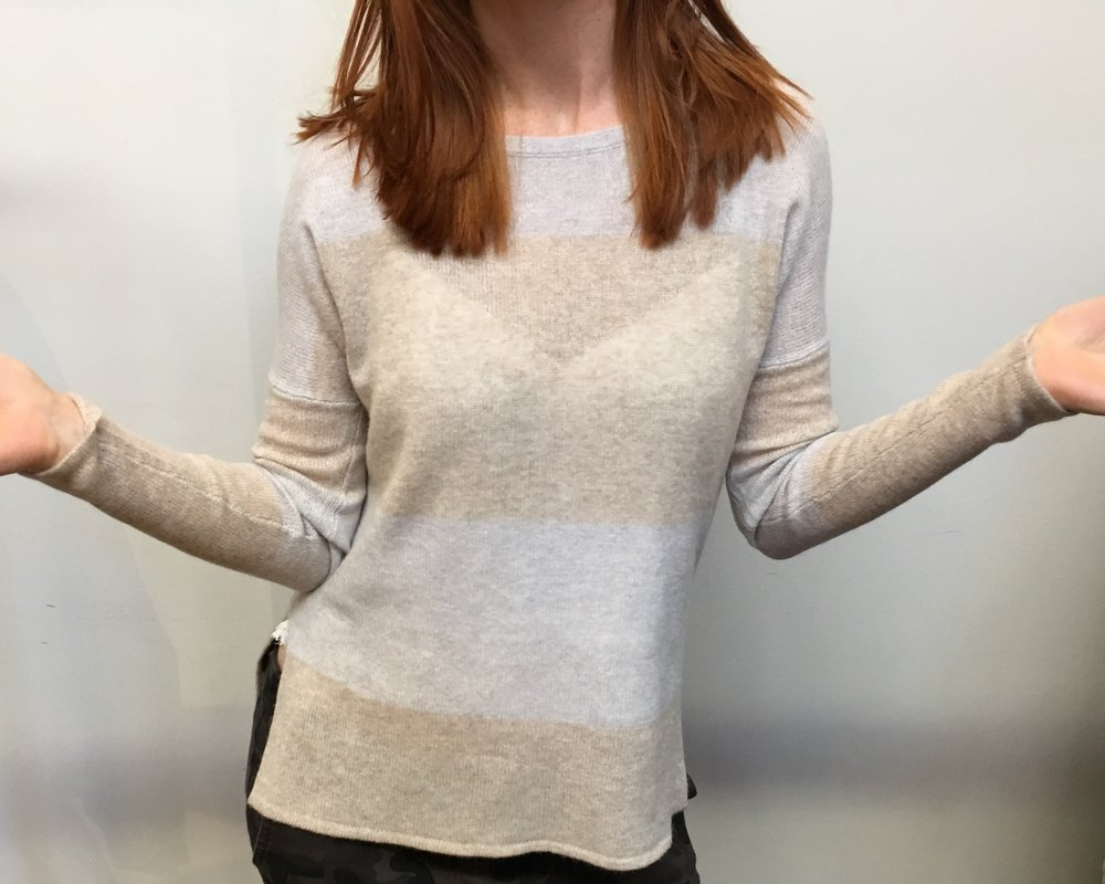 LINE cashmere sweater WAS  $299 NOW  $179