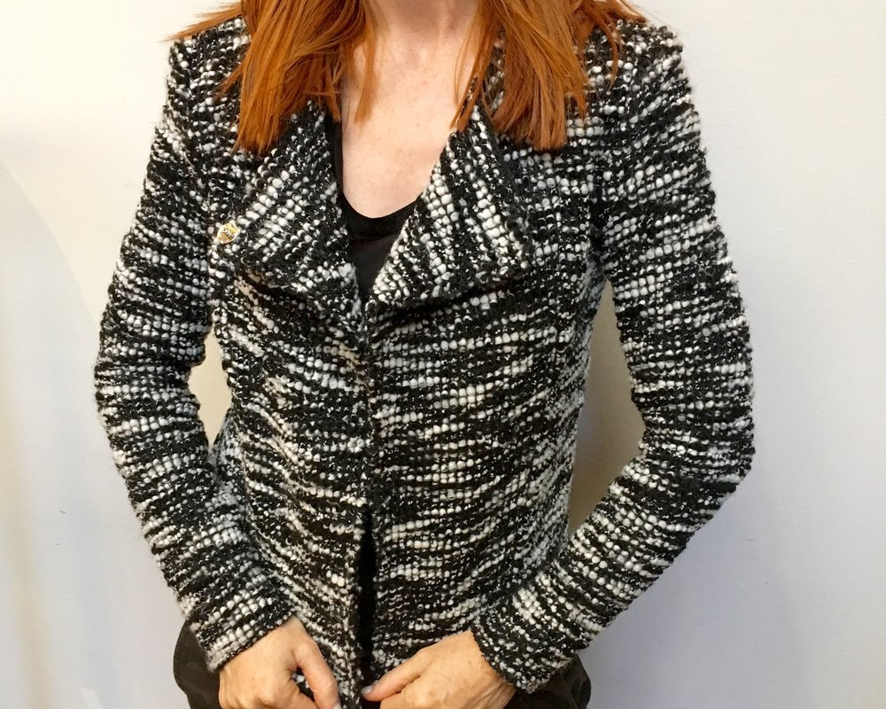 Generation Love Boucle Blazer  WAS $438 NOW $262