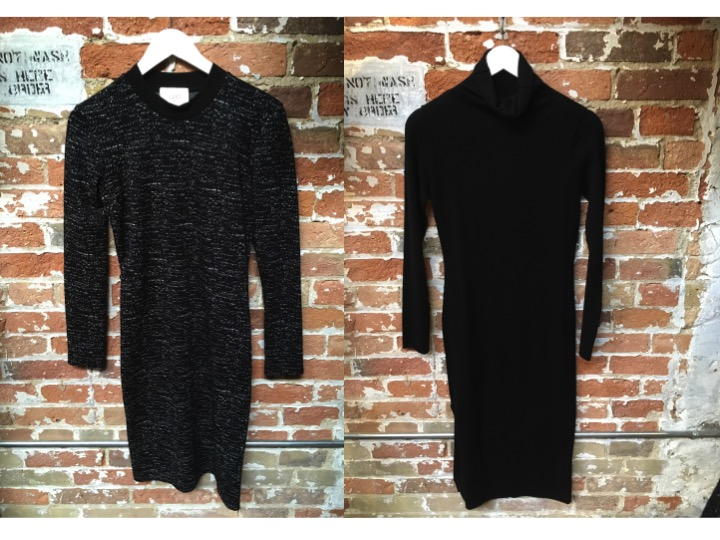 Just Female Jersey Dress $169 John & Jenn Turtleneck Dress $149