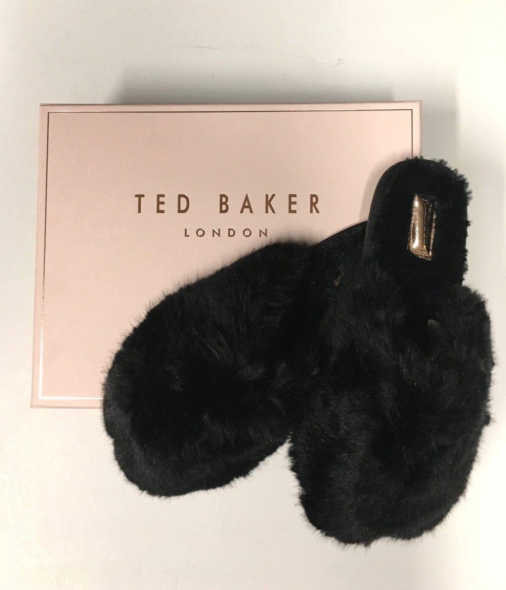 Ted Baker slippers come in the pink or the black. Can we wear these to work? $109