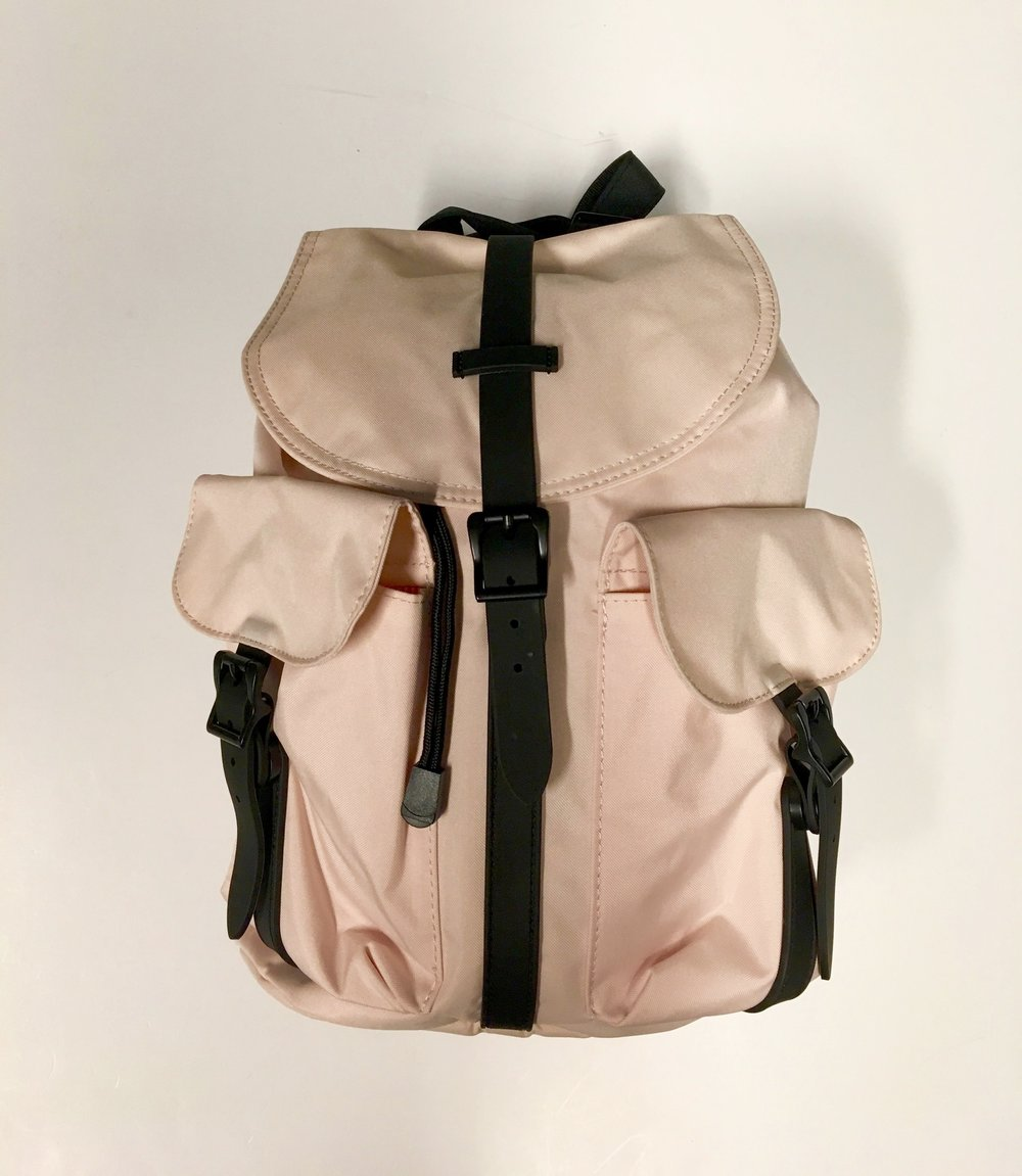 Herschel Bags will suit anyone on your list. Canadian made in a variety of styles and colours but all at an affordable price Dawson Backpack $70