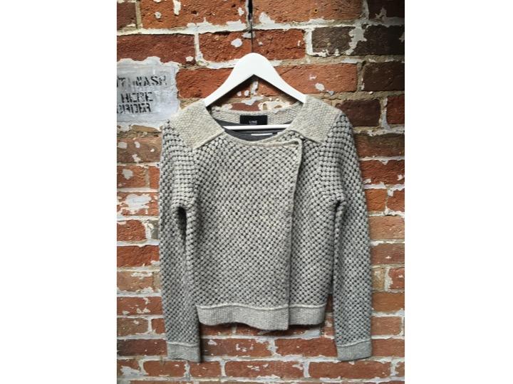 LINE Knit Cardigan $225