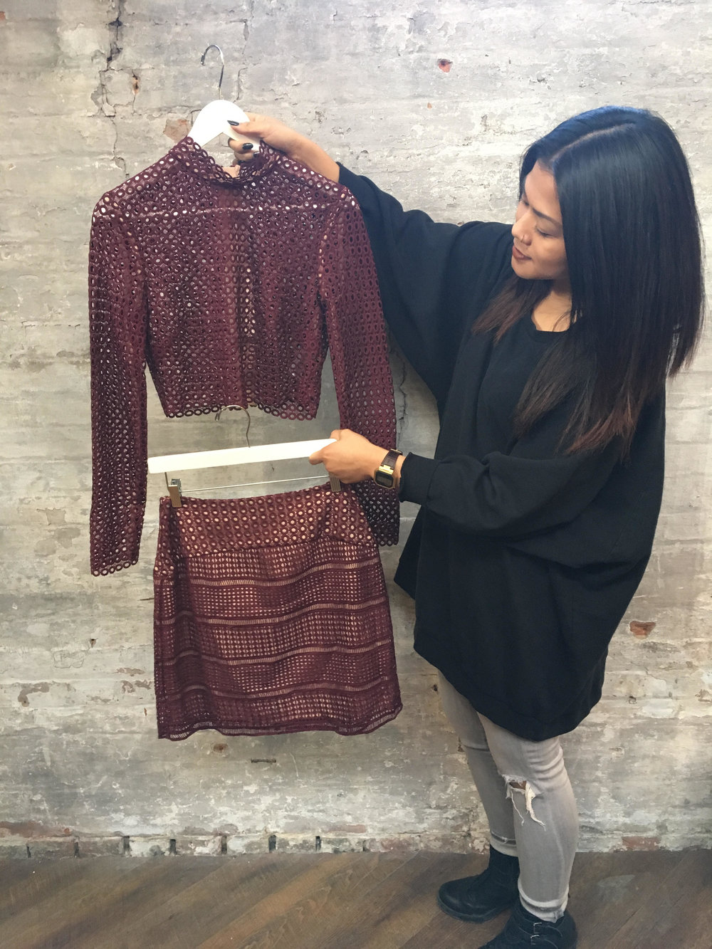 Bee's Pick: Keepsake Top $113 & Skirt $120 Throw this on for a night our or split up the set for a more casual look. Pair the skirt with a turtleneck and rock the top with a pair of high-waisted jeans.