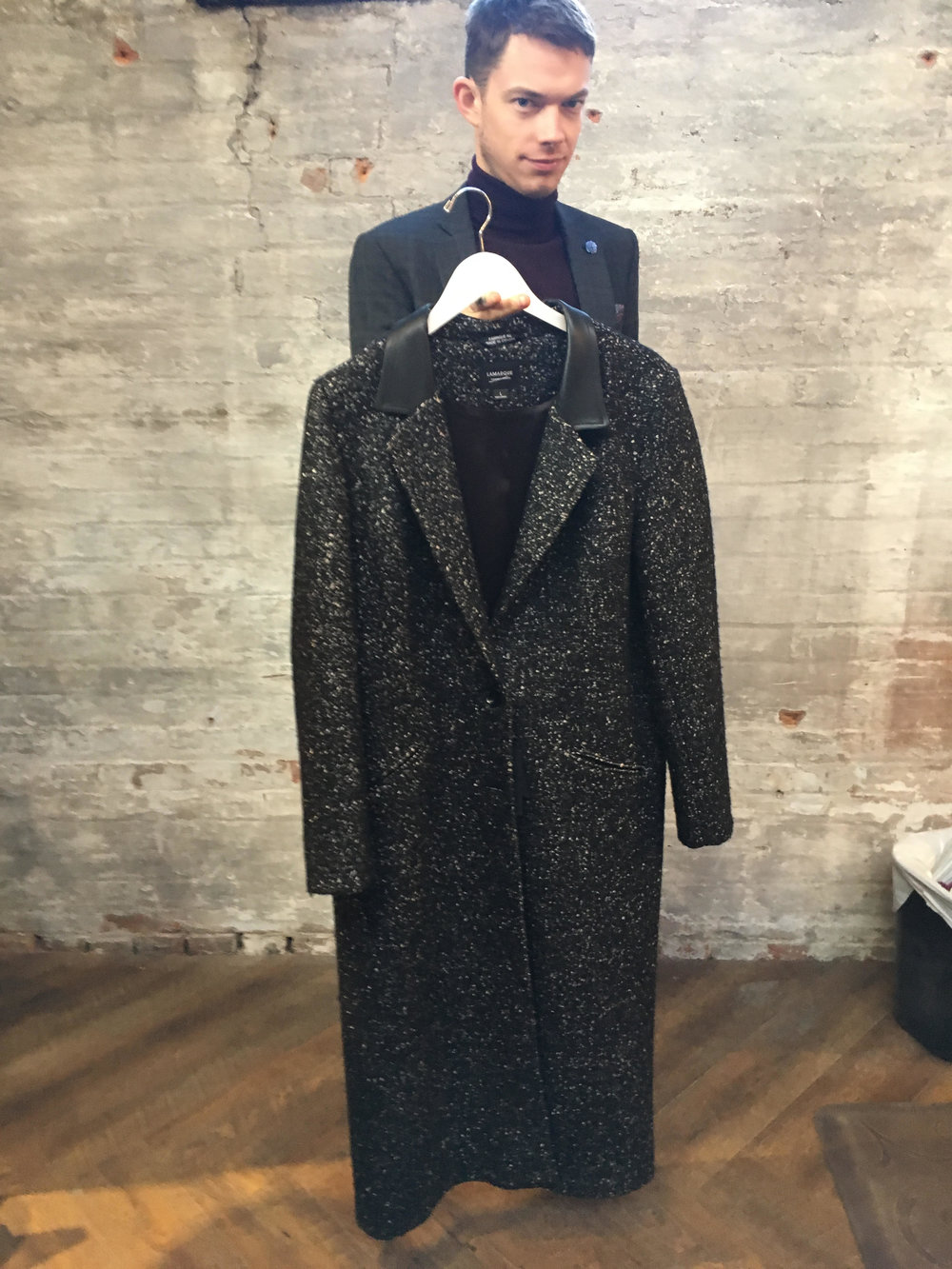 Graham's Pick: La Marque Duster Jacket $339 The ultimate overcoat, and a unique design to make you stand out from the sea of Black wrap coats.