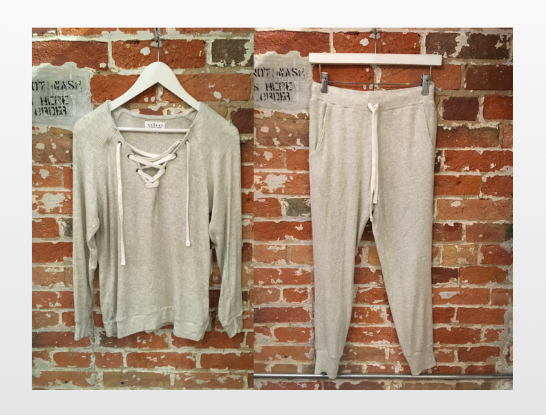 Velvet Cozy Set- Top $198   Bottoms $183