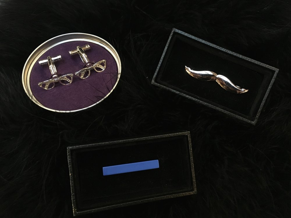 Ted Baker Cuff Links $115 Tie Clips $45