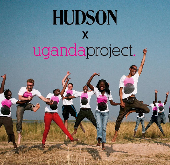 Hudson partnered with the Uganda Project and donated 10% off sales from Project shows to this amazing organization to empower youth through education and self love in Uganda. Check out the Uganda Project for what you can do to help