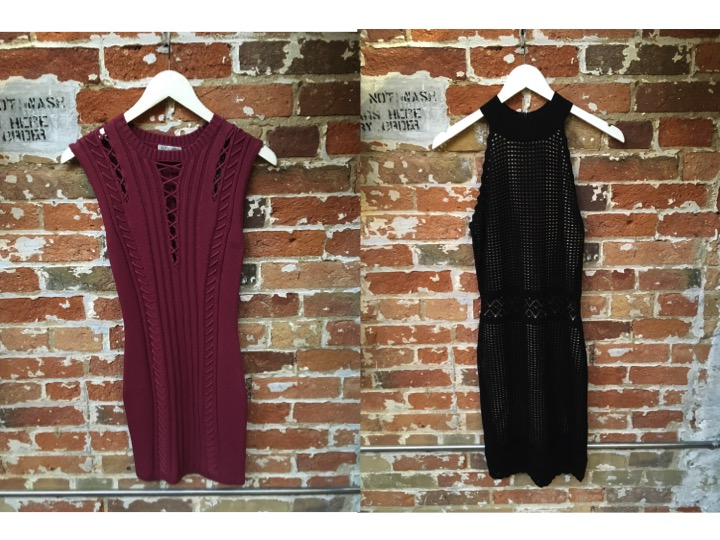 Ronny Kobo Knit Dress $398 John & Jenn Halter Knit Dress $199