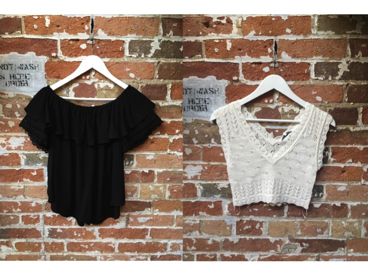 Muche & Muchette Babushka Top $108 Ronny Kobo Knit Crop Top $228