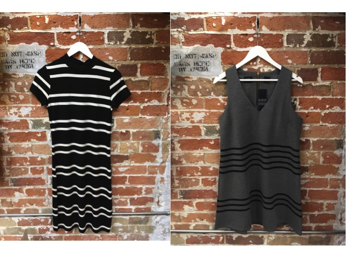 KePress Stripe Midi Dress $90 KePress Sleeveless Stripe Dress $115 Which stripe do you prefer?