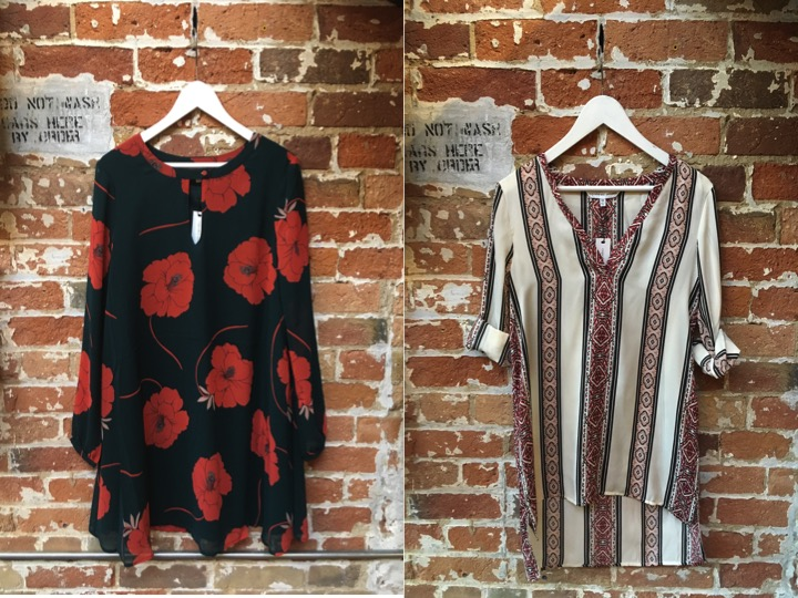 Cupcakes & Cashmere Floral Tunic Dress $158 Cupcakes & Cashmere Printed Tunic $135