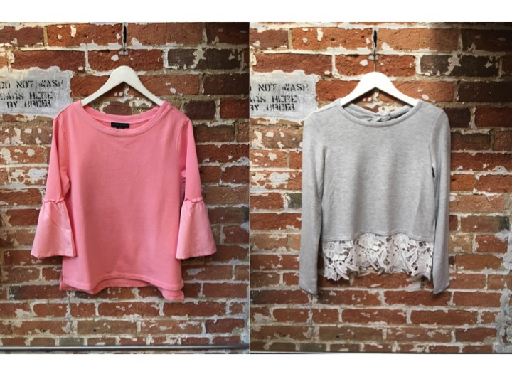 Sanctuary Bell Sleeve Sweatshirt $119 Generation Love Pullover $248