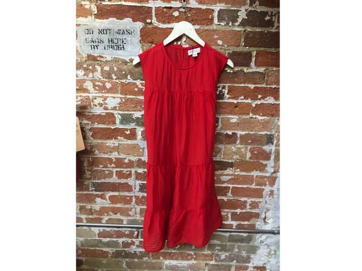 Velvet Cotton Voile Dress $275