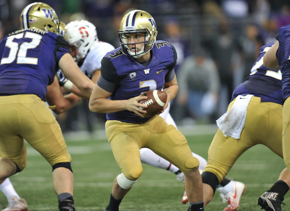 Washington QB Jake Browning - / Jeff Halstead / CSM (Cal Sport Media via AP Images)