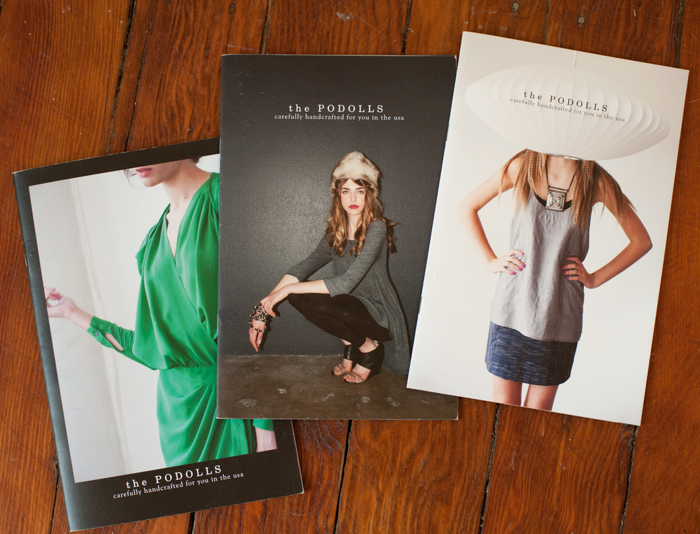 Lookbooks for  the PODOLLS