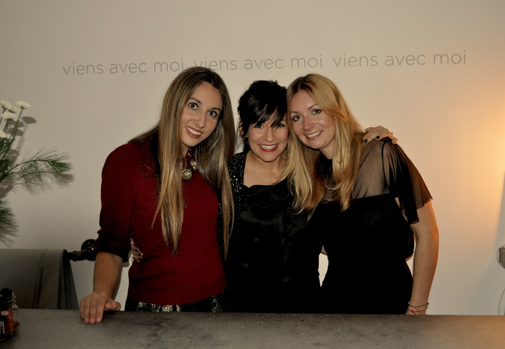 Carolynn Lacasse of Courage Brand & Viens Avec Moi Co-Owners Renee Morra and Sophie Beaudoin