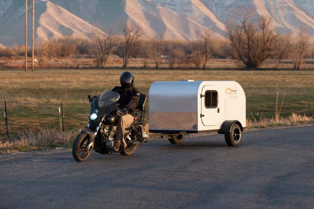 Moby1 C2 - compact / cycle teardrop trailer