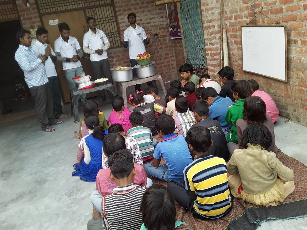 CREM International Missions   Doing Feeding Programs to Children in India.   View Gallery