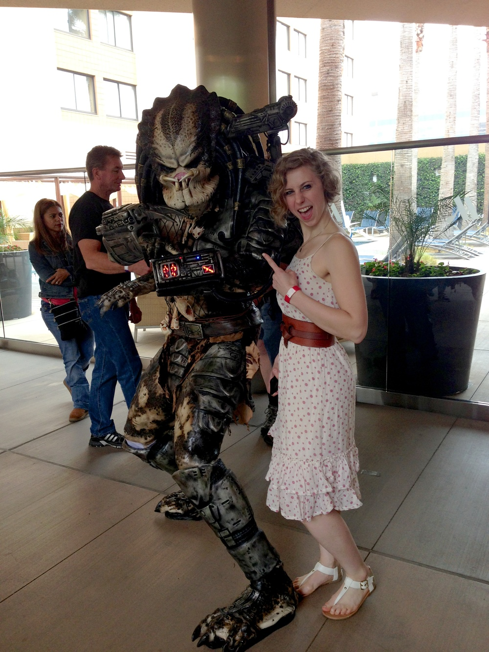 Alexis found the Predator!