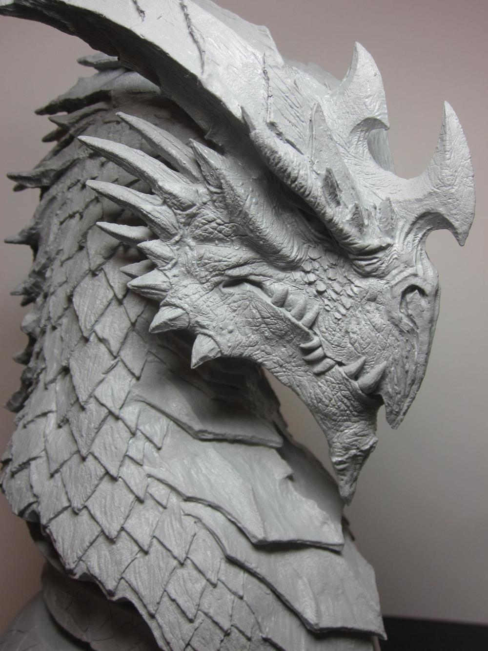 Brian Fay - Inkarnate dragon head