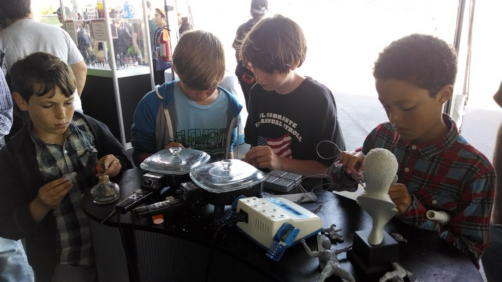 The kids of Maker Faire really got creative and made all kinds of neat sculptures.