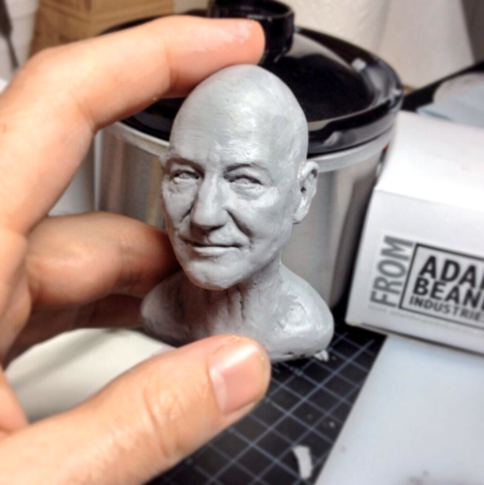 Rod Maxwell - Patrick Stewart work in progress