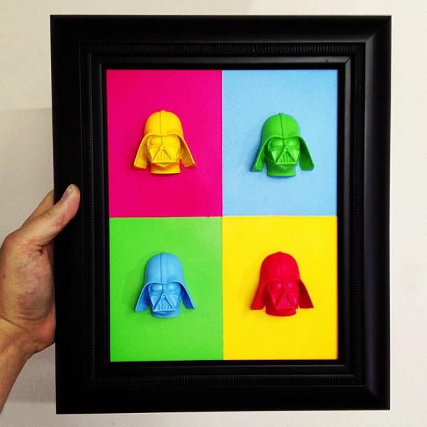 Igor Gosling - Dart Vader pop art