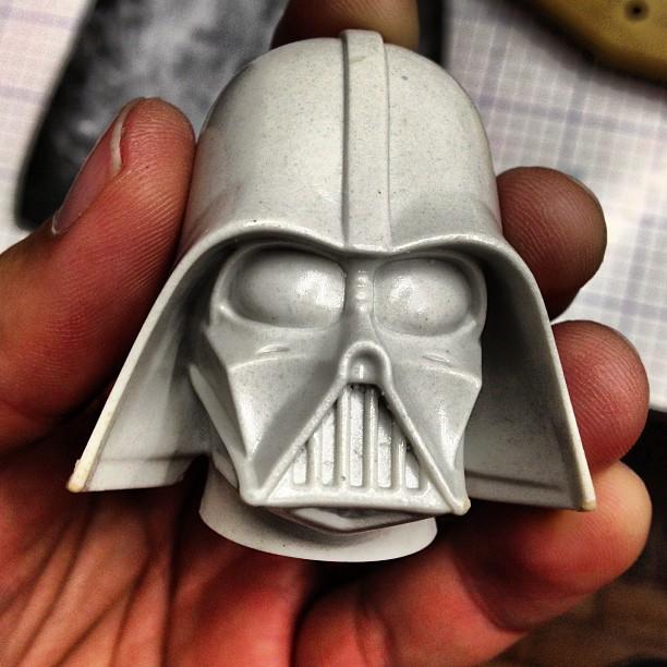 Igor Gosling - Darth Vader head casting
