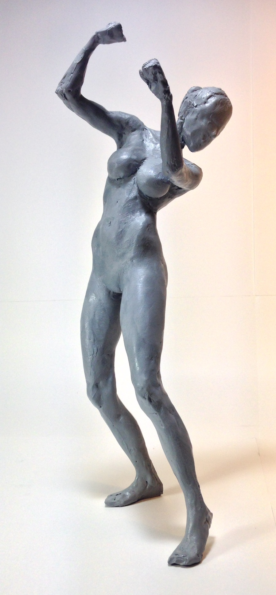 The rough sculpture from Female Figure Sculpting in Cx5s