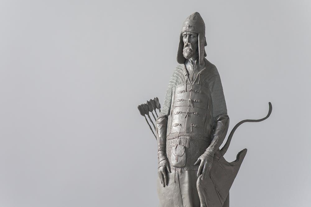 Максим Врясов - Старый лучник detail