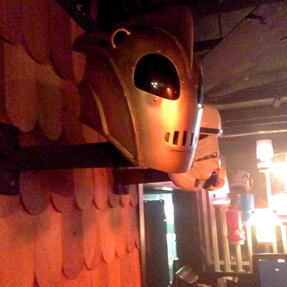 Check it out, it's the Rocketeer helmet.