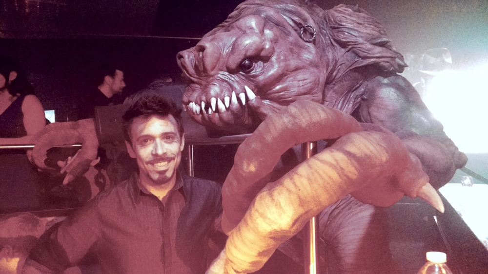 The Rancor in the flesh!
