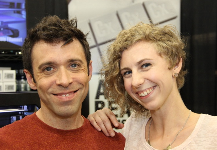 Adam Beane and Alexis Ettner