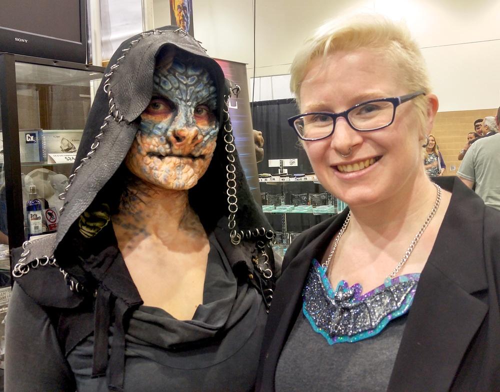 Melissa Ebby's amazing makeup on Aubriana Zurilgen