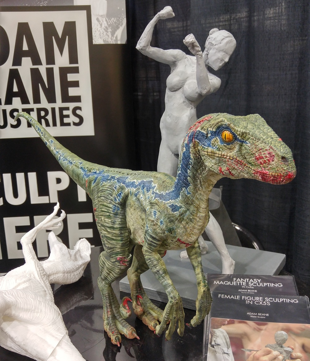 We got to talk with incredibly talented digital sculptors, like  Daniel De León , whose screen-accurate Jurassic Park sculptures are mind blowing, about their thoughts on the many possibilities for Cx5 Sculptable Filament.