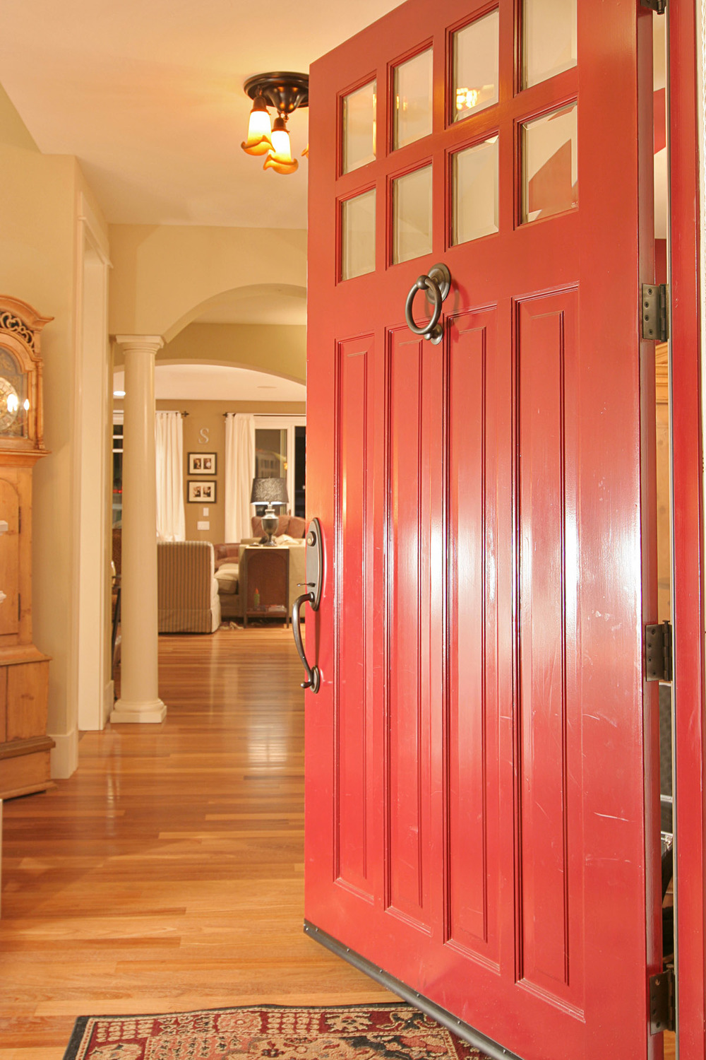 Refresh that door -  Kristi Spouse Interiors