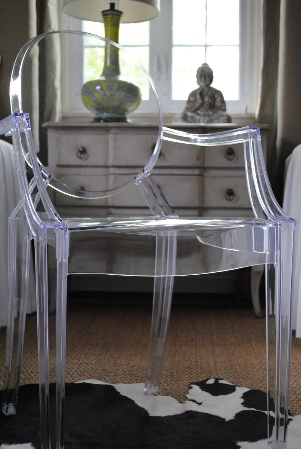 Ghost Acrylic Chair – Via A Perfect Gray.com
