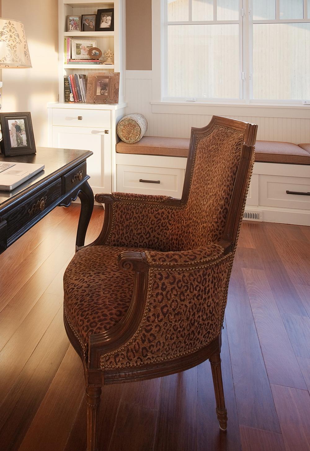 Vintage Leopard Print - Kristi Spouse interiors